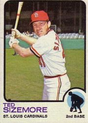 1973 Topps Baseball Cards      128     Ted Sizemore