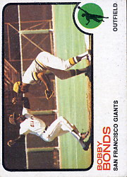 1973 Topps Baseball Cards      145     Bobby Bonds