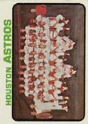 1973 Topps Baseball Cards      158     Houston Astros TC