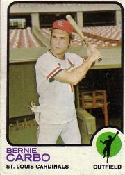 1973 Topps Baseball Cards      171     Bernie Carbo