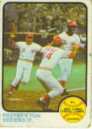 1973 Topps Baseball Cards      202     George Foster/Pete Rose NLCS
