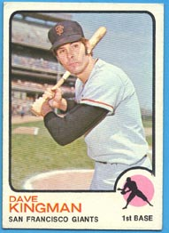 1973 Topps Baseball Cards      023      Dave Kingman