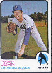 1973 Topps Baseball Cards      258     Tommy John