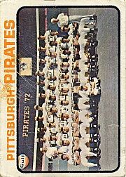1973 Topps Baseball Cards      026      Pittsburgh Pirates TC