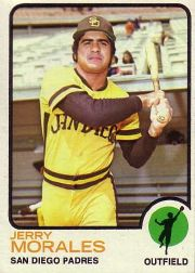 1973 Topps Baseball Cards      268     Jerry Morales