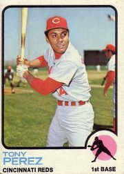 1973 Topps Baseball Cards      275     Tony Perez