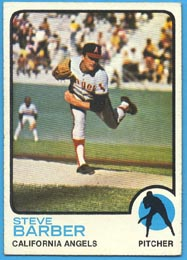 1973 Topps Baseball Cards      036      Steve Barber