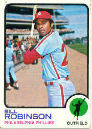 1973 Topps Baseball Cards      037      Bill Robinson