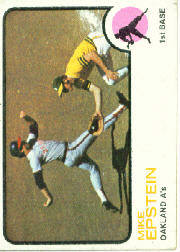 1973 Topps Baseball Cards      038      Mike Epstein