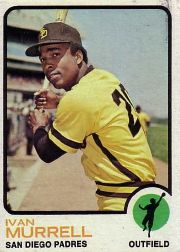1973 Topps Baseball Cards      409     Ivan Murrell