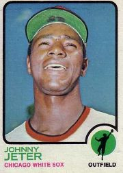 1973 Topps Baseball Cards      423     Johnny Jeter
