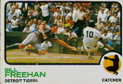 1973 Topps Baseball Cards      460     Bill Freehan