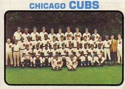1973 Topps Baseball Cards      464     Chicago Cubs TC