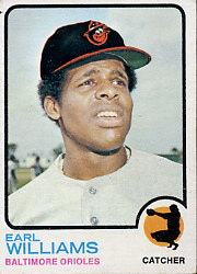 1973 Topps Baseball Cards      504     Earl Williams