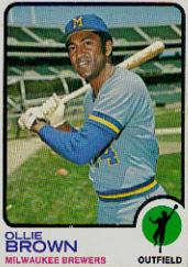 1973 Topps Baseball Cards      526     Ollie Brown