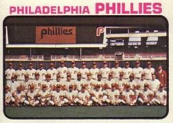 1973 Topps Baseball Cards      536     Philadelphia Phillies TC