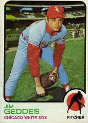 1973 Topps Baseball Cards      561     Jim Geddes RC