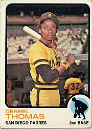 1973 Topps Baseball Cards      057      Derrel Thomas