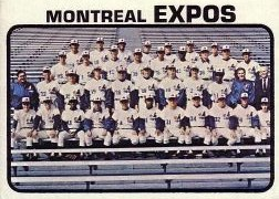 1973 Topps Baseball Cards      576     Montreal Expos TC