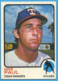 1973 Topps Baseball Cards      058      Mike Paul