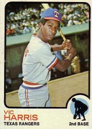 1973 Topps Baseball Cards      594     Vic Harris RC
