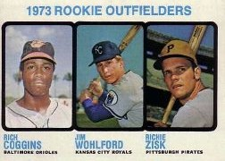1973 Topps Baseball Cards      611     Rich Coggins/Jim Wohlford/Richie Zisk RC