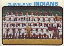 1973 Topps Baseball Cards      629     Cleveland Indians TC