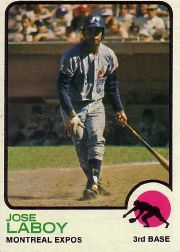 1973 Topps Baseball Cards      642     Jose Laboy