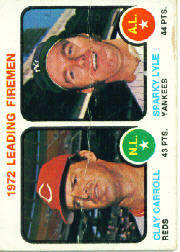 1973 Topps Baseball Cards      068      Clay Carroll/Sparky Lyle LL