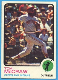 1973 Topps Baseball Cards      086      Tom McCraw