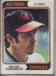 1974 Topps Baseball Cards      160     Brooks Robinson