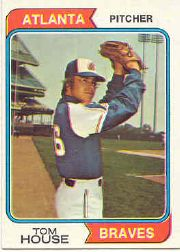 1974 Topps Baseball Cards      164     Tom House