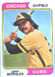 1974 Topps Baseball Cards      258     Jerry Morales