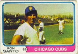 1974 Topps Baseball Cards      270     Ron Santo