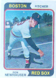 1974 Topps Baseball Cards      033      Don Newhauser RC