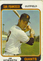1974 Topps Baseball Cards      404     Jim Howarth