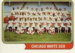 1974 Topps Baseball Cards      416     Chicago White Sox TC