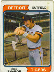 1974 Topps Baseball Cards      048      Dick Sharon RC