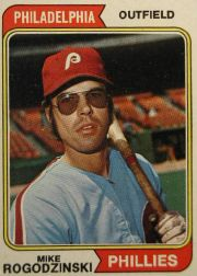 1974 Topps Baseball Cards      492     Mike Rogodzinski RC