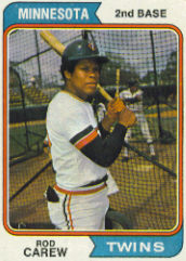 1974 Topps Baseball Cards      050      Rod Carew