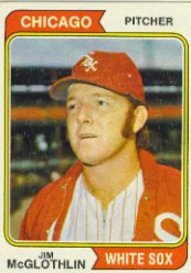 1974 Topps Baseball Cards      557     Jim McGlothlin