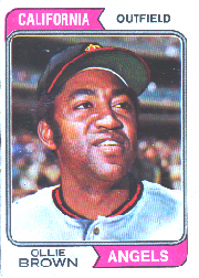1974 Topps Baseball Cards      625     Ollie Brown