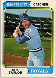 1974 Topps Baseball Cards      627     Carl Taylor