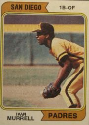 1974 Topps Baseball Cards      628     Ivan Murrell