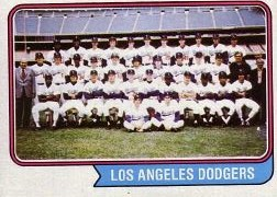 1974 Topps Baseball Cards      643     Los Angeles Dodgers TC