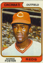 1974 Topps Baseball Cards      646     George Foster