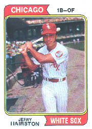 1974 Topps Baseball Cards      096      Jerry Hairston RC