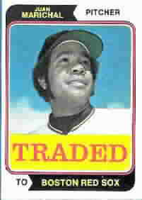 1974 Topps Traded Baseball Cards