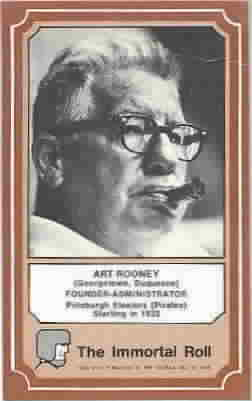 1975 Fleer Hall of Fame Football Cards