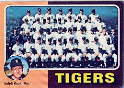 1975 Topps Baseball Cards      018      Detroit Tigers CL/Ralph Houk